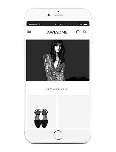 [MOBILE SMART DESIGN] NO.M064 AWESOME 어썸