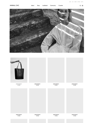 [PC SMART DESIGN] NO.092 MINIMAL CHIC 미니멀 시크